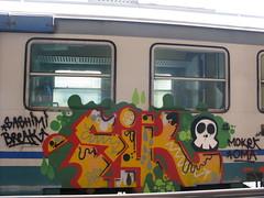 SIK CREW (Yattacan) Tags: breakfast writing graffiti break sashimi 13 sik snupy yattacan