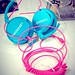 Hed Kandi Disco Heaven Pure Kandi Blue Pink Headphones Review