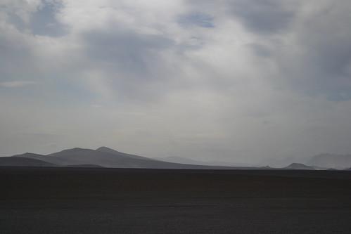 Ash desert of Sprengisandur
