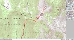 Bison Peak TOPO