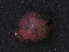 IC 1396 reprocessed (BudgetAstro) Tags: nikond70 nebula astrophotography astronomy dss cepheus 55200mmf456g ic1396 elephantstrunknebula deepskystacker Astrometrydotnet:status=solved garnetstar mucephei ic1396a Astrometrydotnet:version=14400 Astrometrydotnet:id=alpha20110873249999