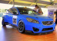 Volvo C30 Polestar (Mirrorless for me) Tags: cars sports volvo racing goodwood festivalofspeed polestar volvoc30