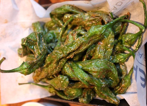 Fried Shishitou Peppers