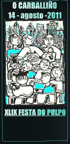 O Carballiño 2011 - XLIX Festa do Polbo - cartel