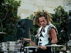 Rastas y percusión