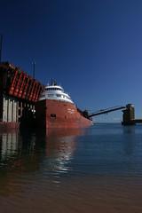 Str. Kaye E. Barker Marquette, MI (wisconsinrails) Tags: mi boat michigan marquette interlake freighter kayeebarker