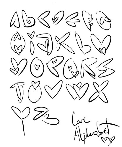 love alphabet by gemma_granados