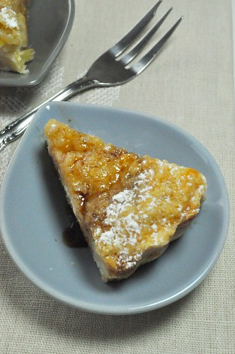 The Secret Recipe Club - Pear & Sour Cream Pie