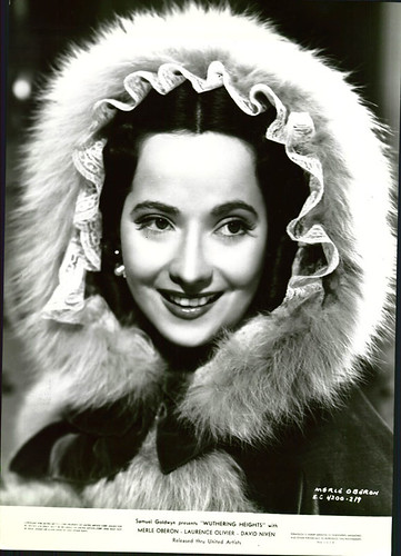 Merle Oberon star of 'Wuthering Heights' 1939