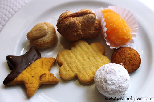 Assortment of cookies, Confeitaria Nacional