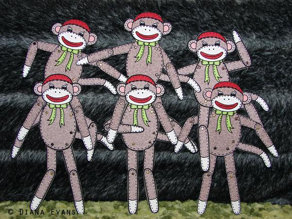 sock monkey 4