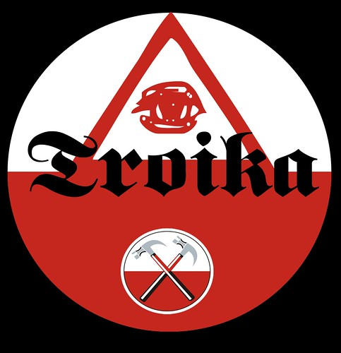 TROIKA LOGO by Colonel Flick