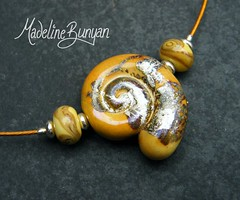 "Silvered Ammonite Necklet • <a style=""font-size:0.8em;"" href=""https://www.flickr.com/photos/37516896@N05/6194938860/"" target=""_blank"">View on Flickr</a>"