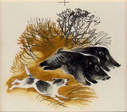 Какбаны и собака