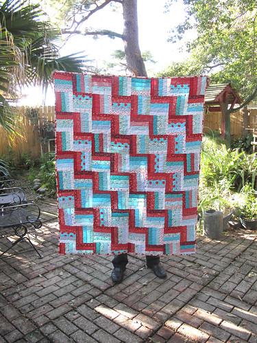 Fence rail quilt by gaydenesse