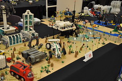 Numereji 2421 (Yupa-sama) Tags: lego display convention 2011 2421 brickcon numereji