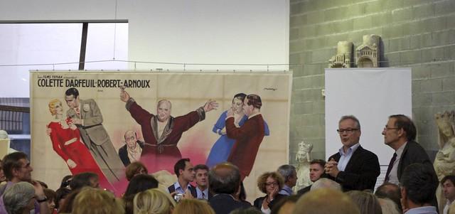 Thierry Frémaux inaugure l'exposition des affiches de cinéma