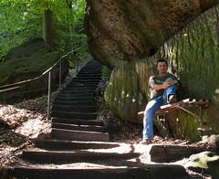 Pfaffenstein, Stairs, and Me