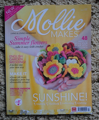 My first issue of Mollie Makes