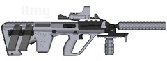 Custom Steyr AUG (Just Woitek now.) Tags: gun aug pimp glock steyr my pimpmygun