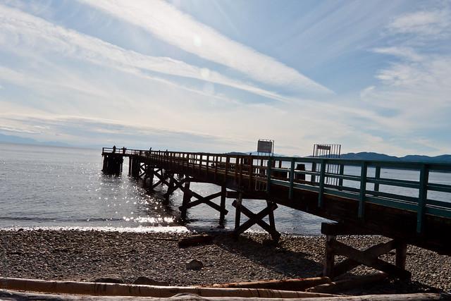 Davis Bay Pier