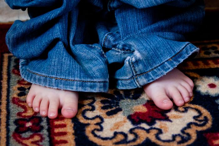 Маша в джинсах... моих