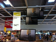 Dortmunder U-Turm (Bild Dortmund Myrarp bei IKEA in klein)