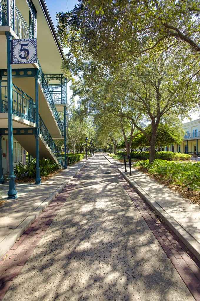 Pathways of Port Orleans