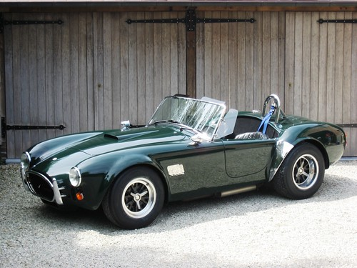 AC Cobra MkIV to Lightweight specification (1988).