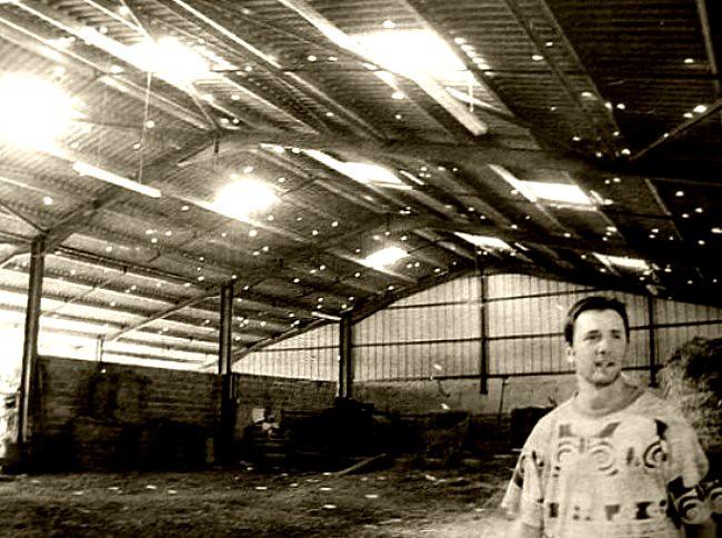 toiture abîmée par la grêle en juillet 2003 météopassion