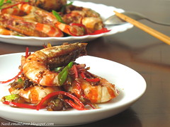 King of soy sauce prawn