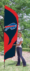 Buffalo Bills Tall Feather Flag