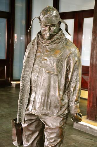 Ignatius J Reilly statue