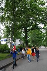 P vandring genom funkisparadiset (bisonblog) Tags: stockholm midsommar funkis bromma 2011 sdra ngby