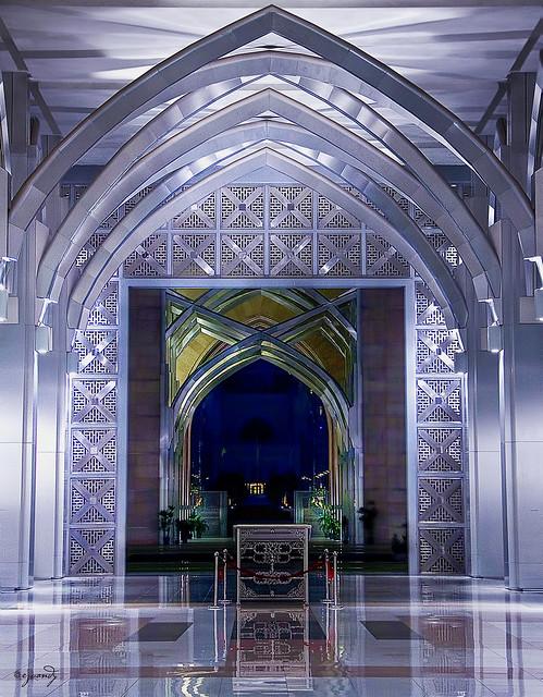 Arch Masjid Besi Putrajaya