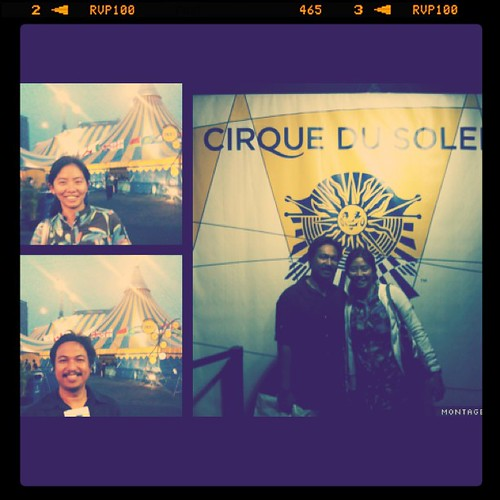 Yey Cirque. Amazing Show! And they'll be back on Aug 2012 @ MOA
