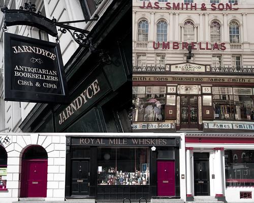 Calles y tiendas de Londres