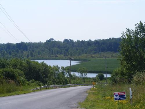 A lake inlet