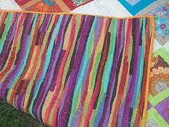 backing fabric and binding