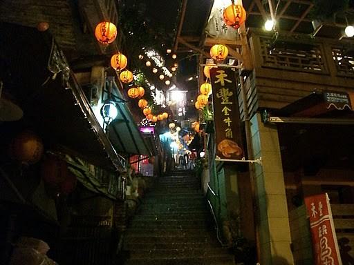 ナイト九ふん観光と夜市散策(九ふんのオプショナルツアー)