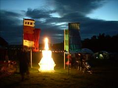 Stupa at evening 3