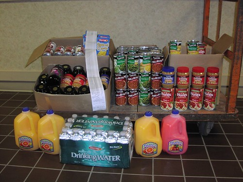"FSA State Executive Director Craig Schaunaman's Hall-of-Fame ""Feds Feed Families"" donation.)"