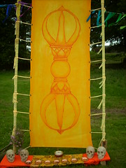 Ritual Space Yellow Vajra