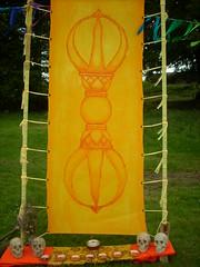 Ritual Space Yellow Vajra
