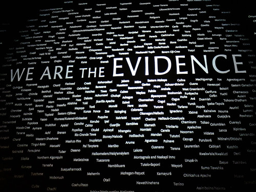 We Are The Evidence - National Museum of the American Indian