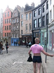 Edinburgh: Colour in the Old Town (stuartpaterson) Tags: street city uk wedding house art english fountain architecture french volcano bride design scotland town high edinburgh king cityscape view princess britain glasgow gothic scottish style palace lord medieval stuart queen stewart holyrood gb font vista civic streetperformer british robertburns neogothic newtown holyroodhouse townscape oldtown volcanic highstreet stagdo caltonhill arthursseat mile fountainhead scottishparliament thequeen maryqueenofscots rugbysevens stagparty marystewart palaceofholyroodhouse rugby7s marystuart gratbritain sailsburycrags edinburghrugby7s glasgowedinburgh holyroodparliament edinburghcityscape royalmileroyal edinburghrugbysevens henrystuartlorddarnley