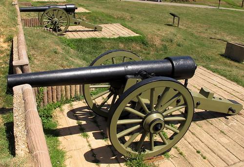 Fort Stevens Artillery