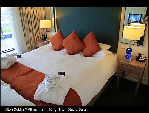 Modern Hospitality // Beautiful ambiance // Grand Location // King Hilton Studio Suite with Balcony @ The Hilton Hotel Dublin Kilmainham // Dublin // Republic of Ireland // Embrace Beauty!
