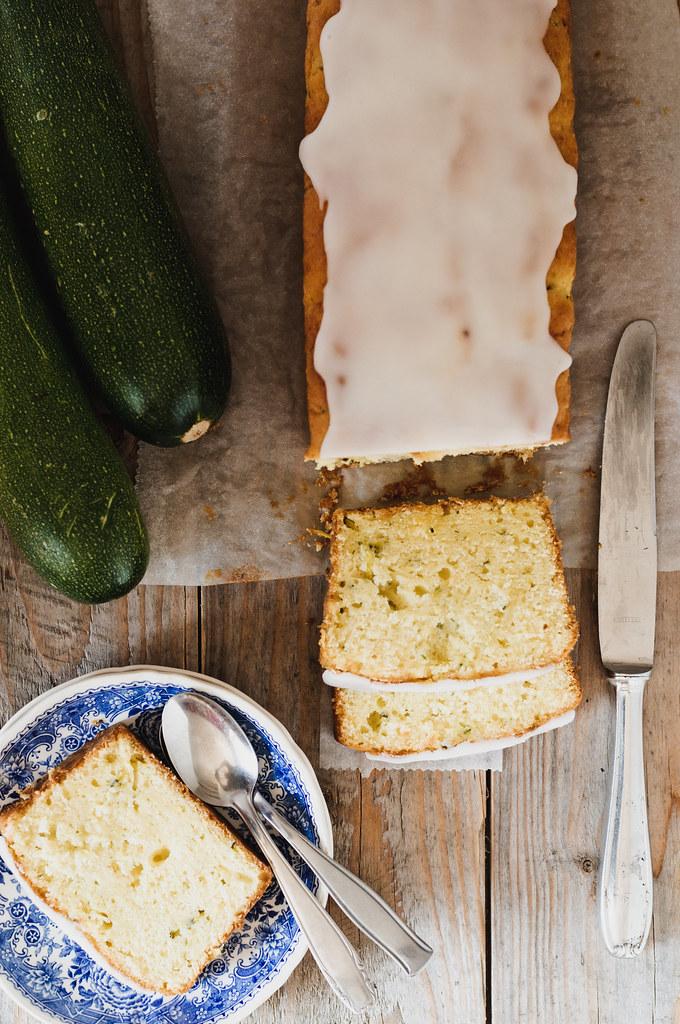 Zucchini-Lemon Loaf Cake