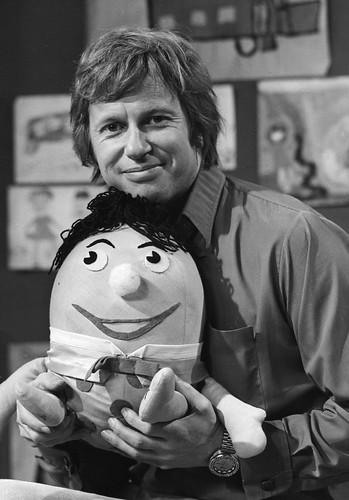 John Hamblin with Humpty